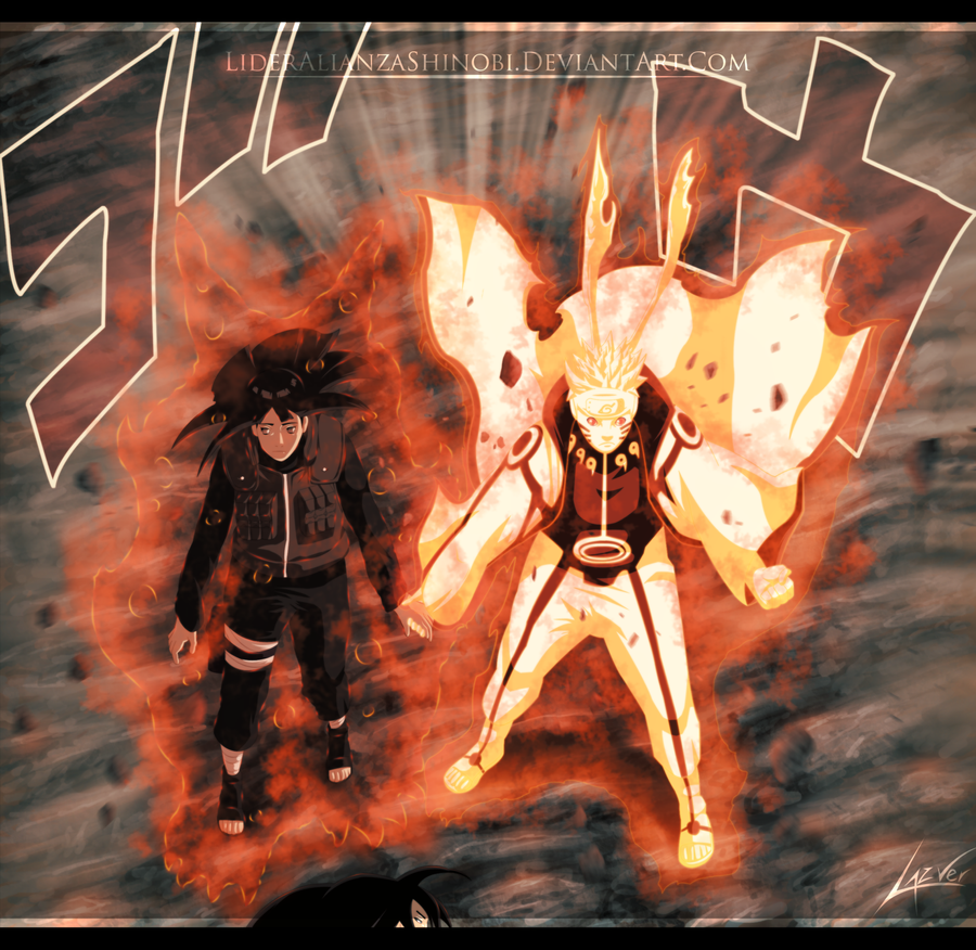 Naruto 616 - Hinata and Naruto by LiderAlianzaShinobi