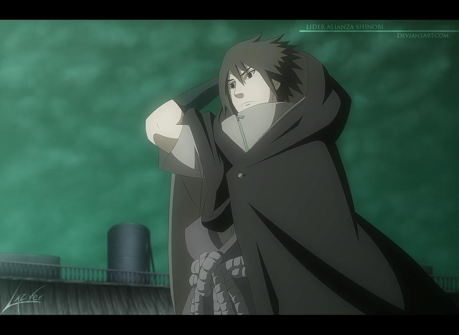 Naruto 618 - Sasuke Returns To Konoha by LiderAlianzaShinobi