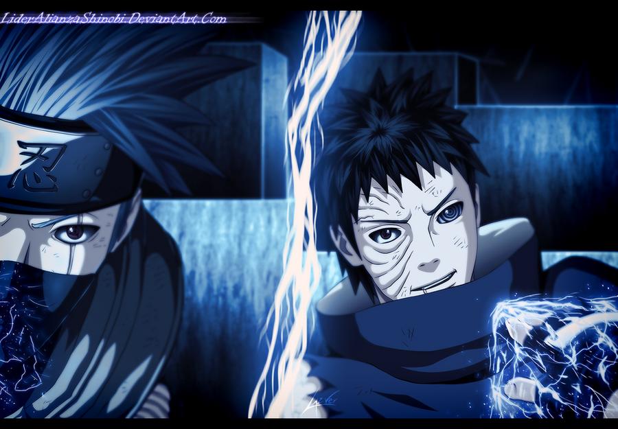 ||- Prototipo de Técnicas-|| Naruto_629___kakashi_vs_obito_by_lideralianzashinobi-d657vy5