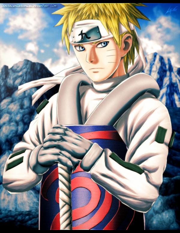 Jinchuuriki - Naruto Uzumaki by LiderAlianzaShinobi