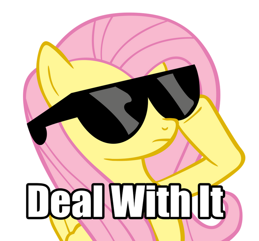 Deal With It....Flutter Style