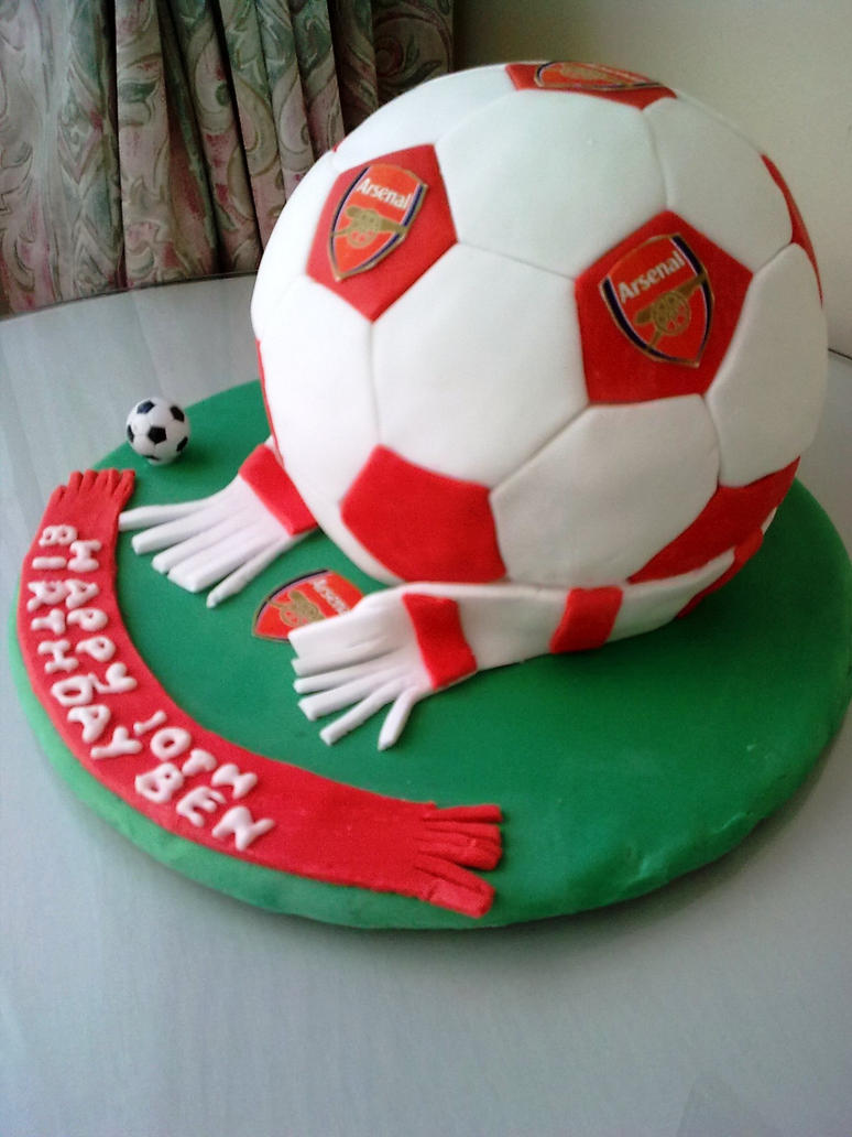 Cake Decorations Football Nets : Football Cake by grandmamarel on DeviantArt