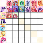 Shipping Chart| Mane 6 x OC| TO BE UPDATED!