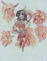 Carnivale de los Fuegos by maranianthe