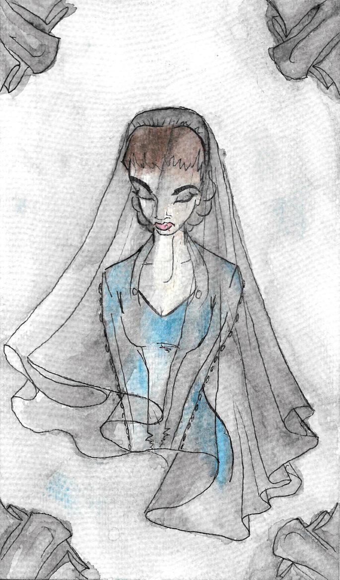 The Widow by maranianthe