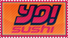 Yo Sushi stamp by IceSprinkles