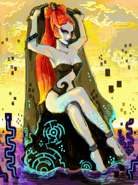 Midna in summer by Sui-yumeshima