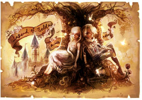 Zelda and Sheik 2 by Sui-yumeshima