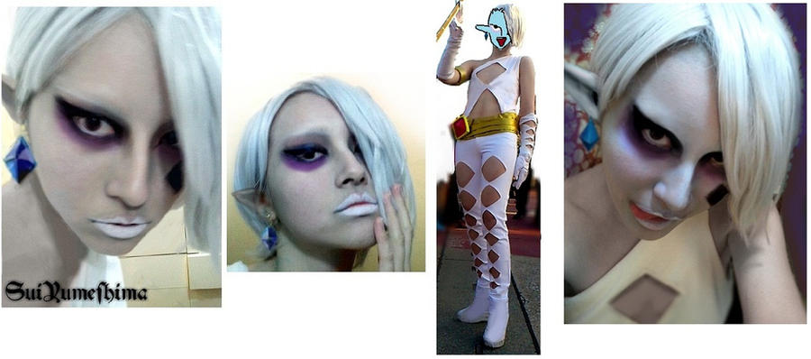 I make up as Ghirahim by Sui-yumeshima