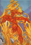 Human Torch Marvel MangeVerse