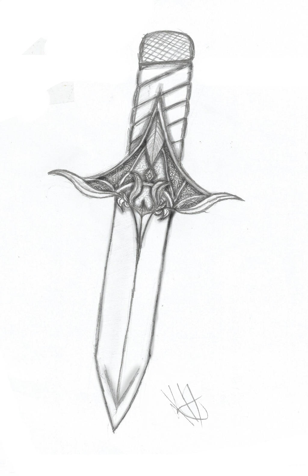 Elven Dagger by Kirara-Heiress