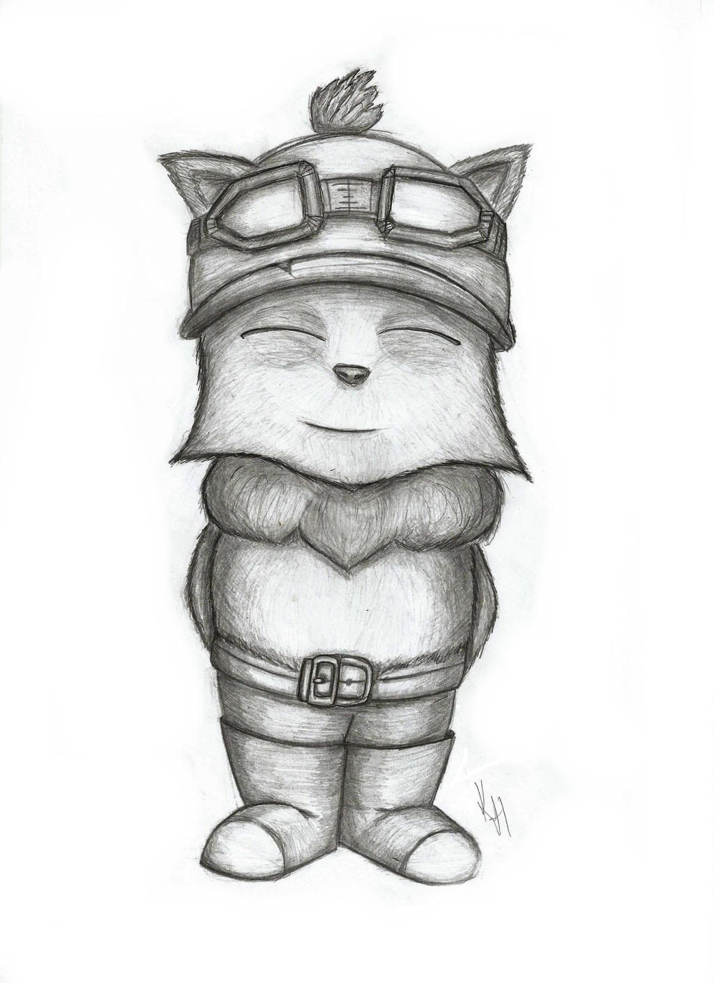 Teemo by Kirara-Heiress