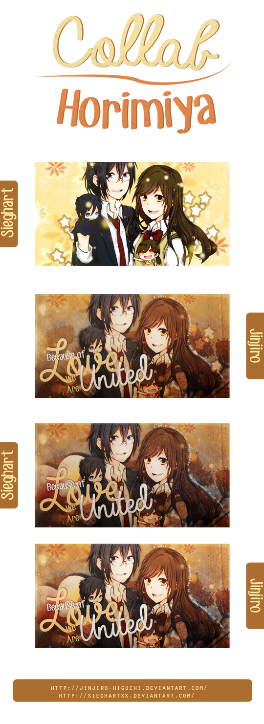 Horimiya collab (first collab!)