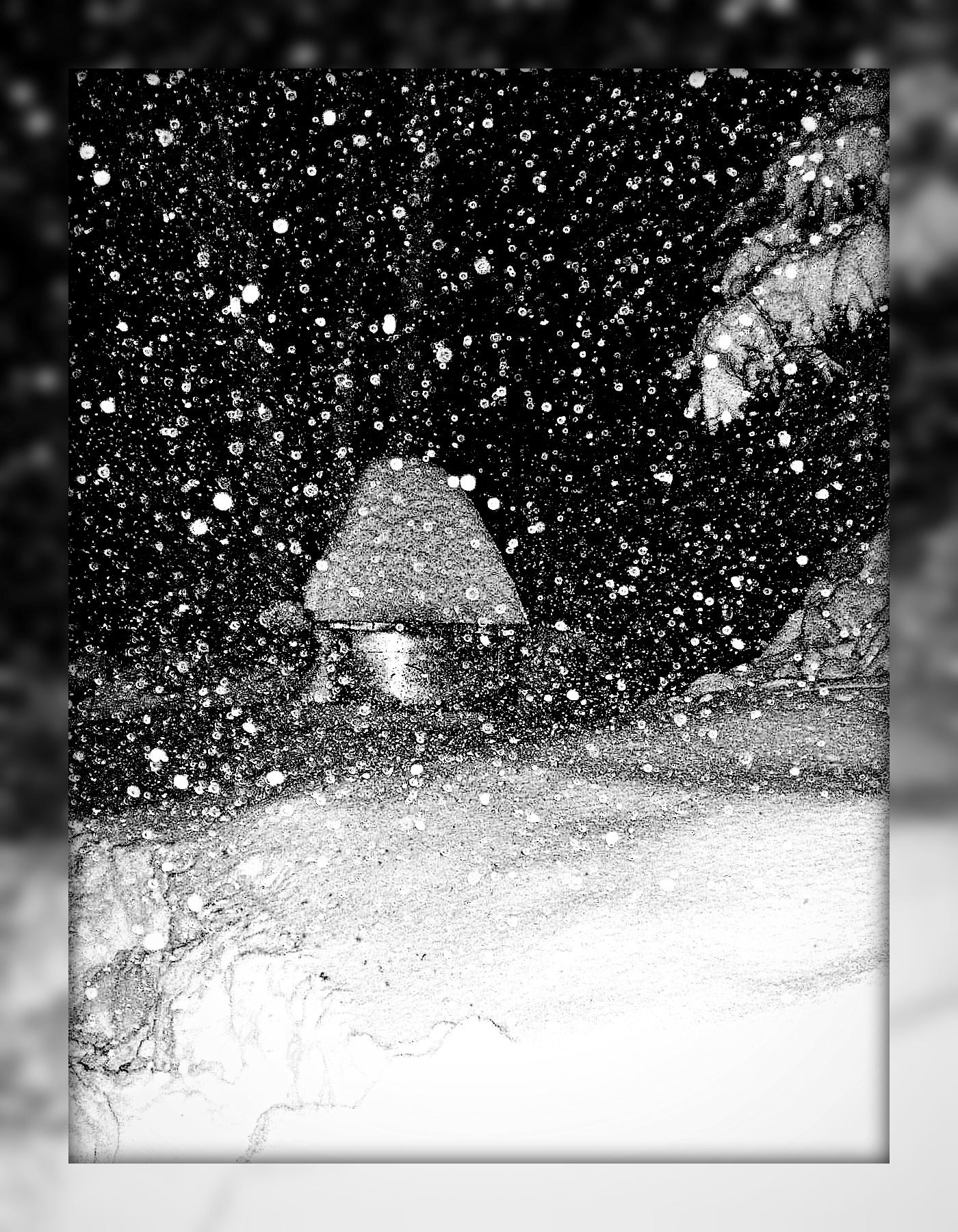 Gloomy Snow Fall by surrealistic-gloom
