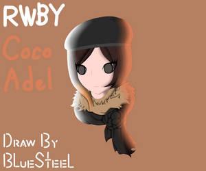 RWBY Coco Adel Face Fanart
