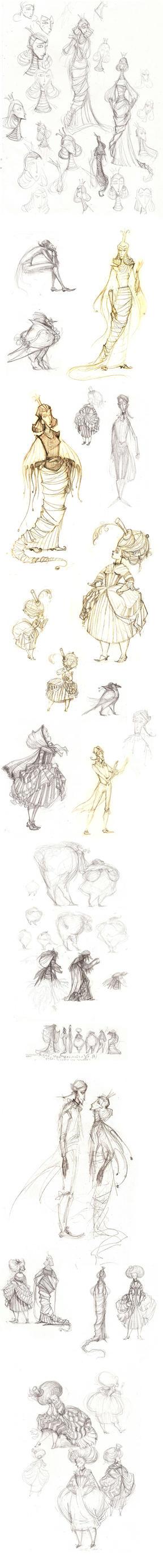 Golden Pot Character Design by Catoram-A
