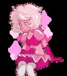 Pink Diamond Doodle