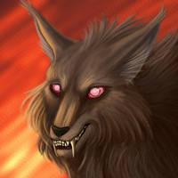 Talon Wolfshade Portrait by squeakychewtoy
