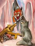 Shere Khan's Hunting by squeakychewtoy