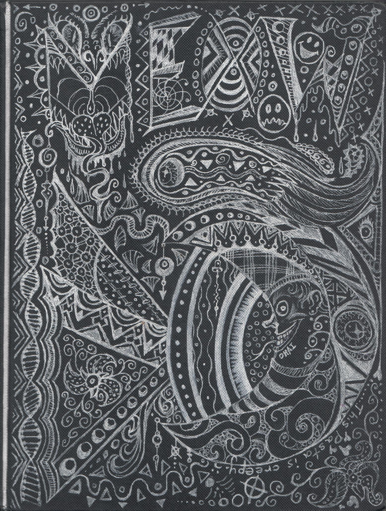 Zentangle Book - Front Cover by squeakychewtoy