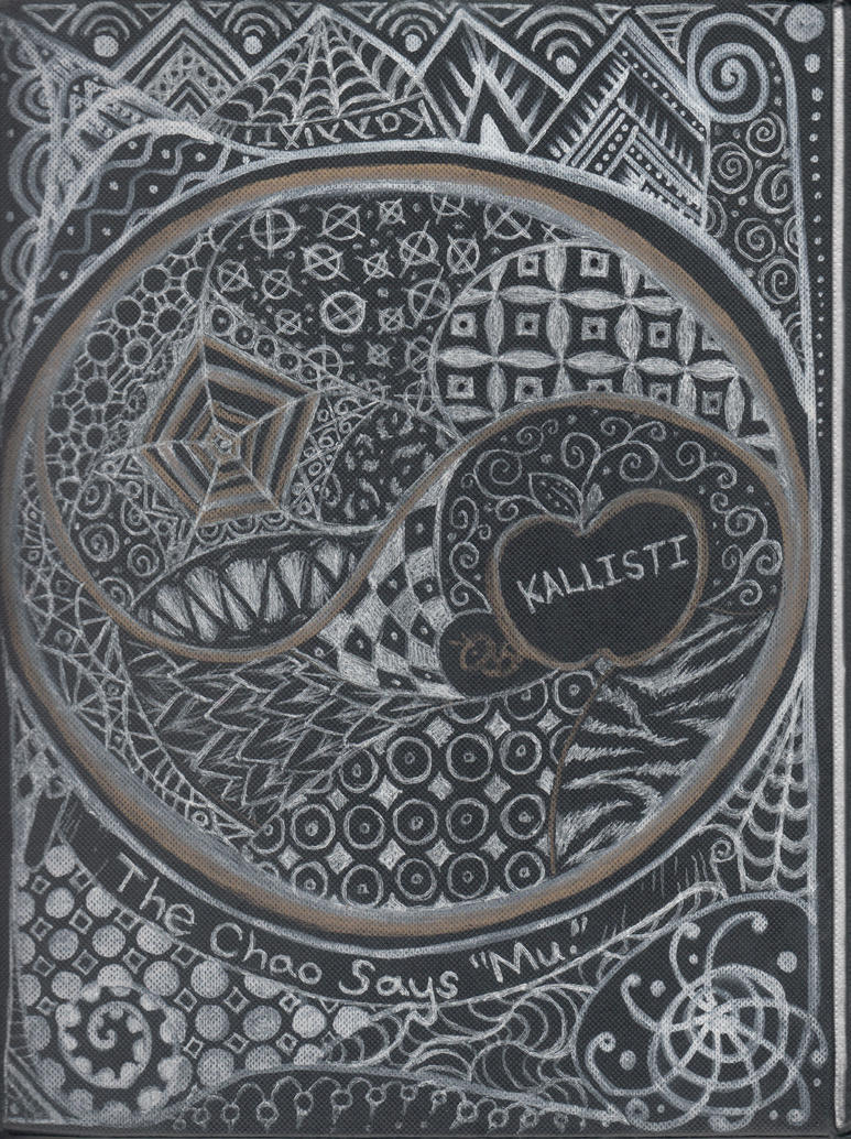 Zentangle Book - Back Cover by squeakychewtoy