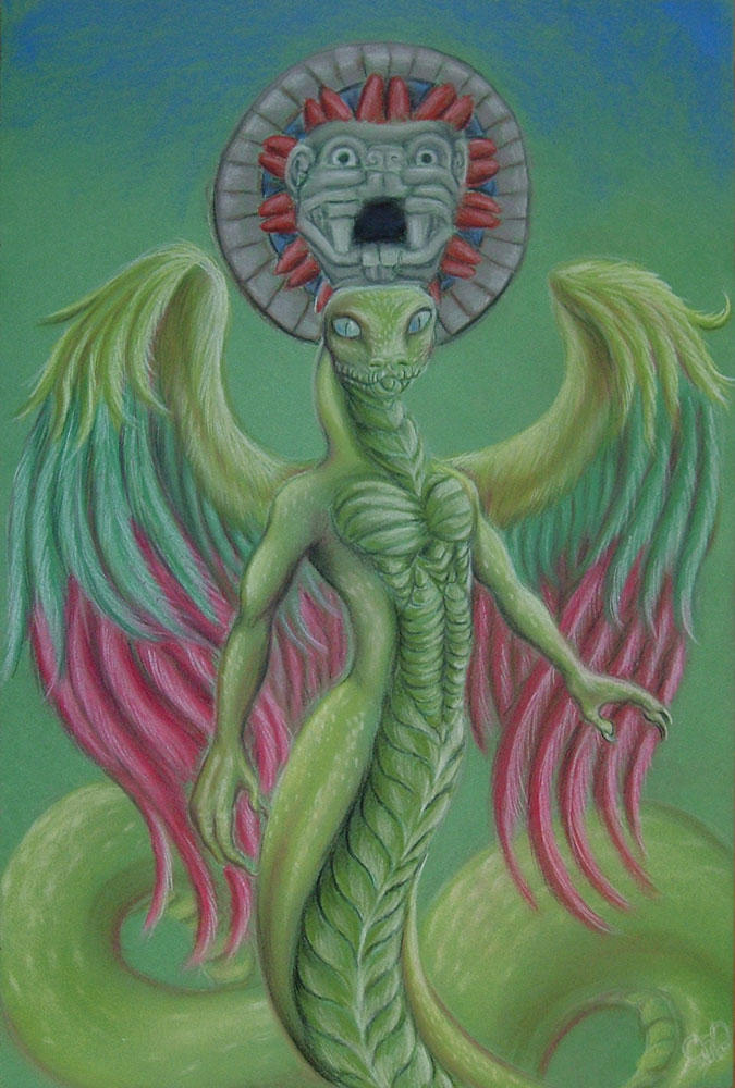The Feathered Serpent by squeakychewtoy