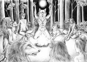 Spirit Gathering by squeakychewtoy
