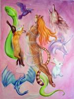 Wild Shape by squeakychewtoy