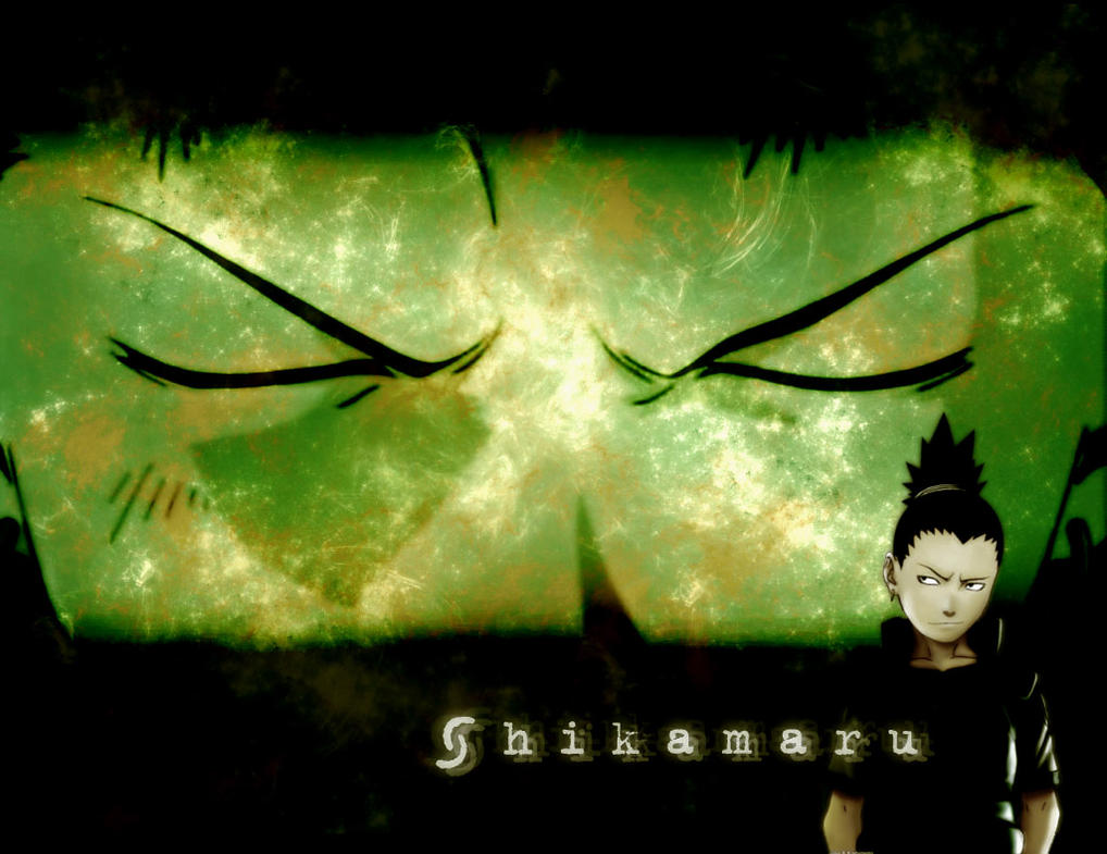 Shikamaru Wallpaper by lilaichee