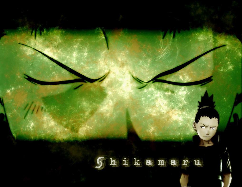 Shikamaru Wallpaper by lilaichee