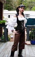 SteamPunk Outfit by UnknownAndInsane29