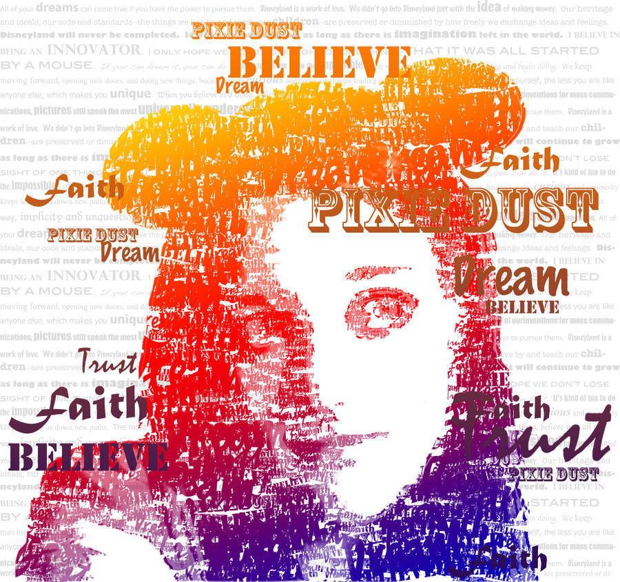 Typographic Self Portrait by SteamboatLyssie