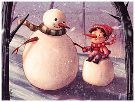 Hello December by SaintMaria666