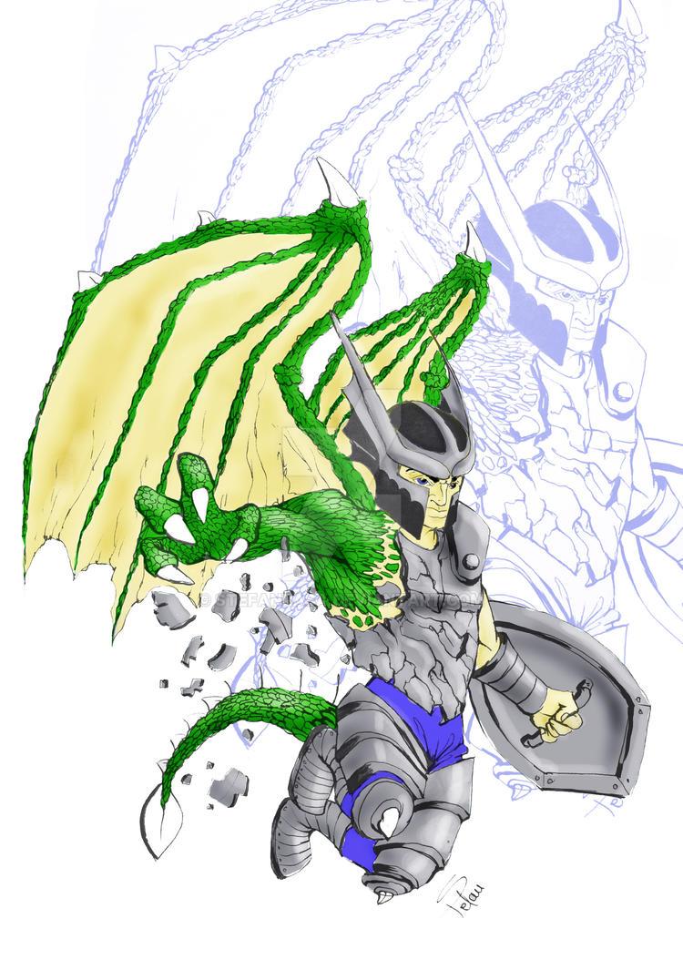 Dragon Knight color by StefanRasa on DeviantArt
