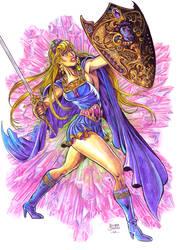 Amethyst, the princess of Gemworld (older version) by Santoric