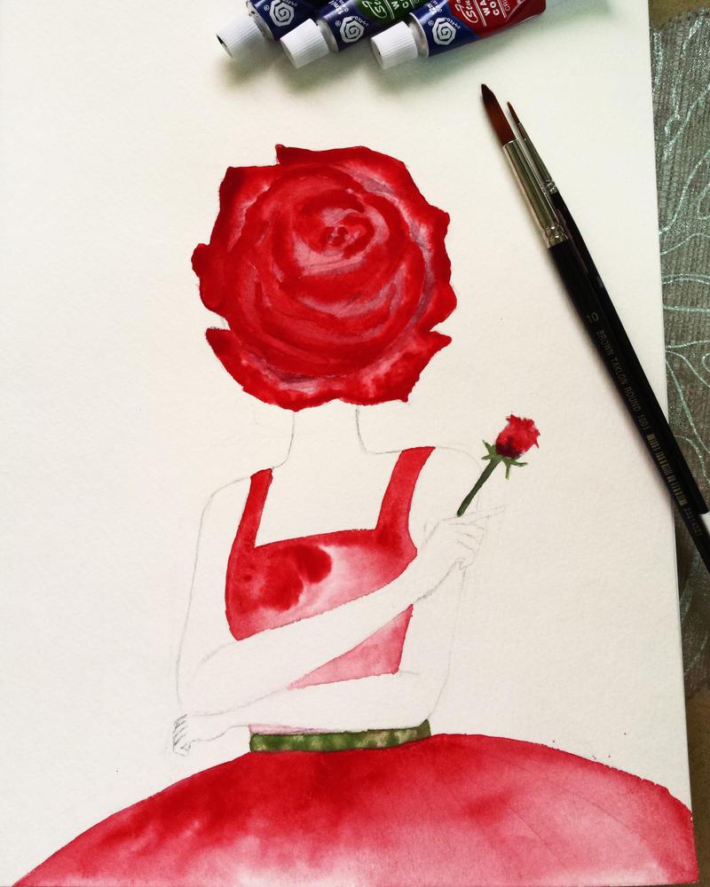 The pride of a rose by hi-no-machi