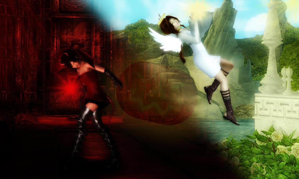 heaven vs hell art - photo #27