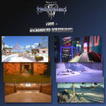 Kingdom Hearts III Background Screenshots by LexaKiness