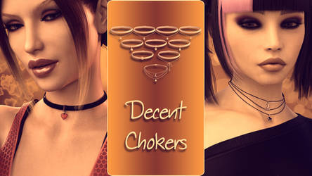 Decent Chokers for Genesis 8 Female