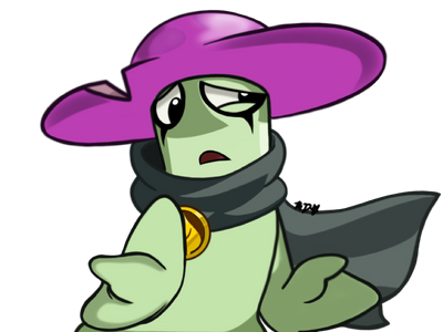 PvZ Heroes-Random colored doodle of NC by CrystiliaLance