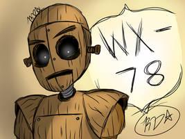 Don't Starve Fanart- WX-78 digital art(doodle)