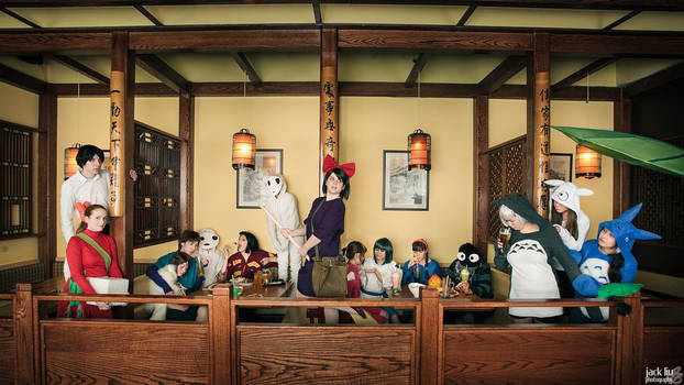 Where The Imagination of Ghibli Gathers