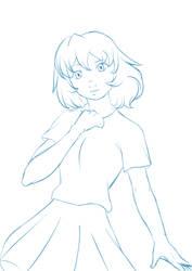 Girl skecth