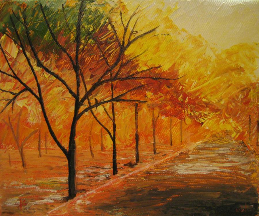 Autumn fire by azeemb