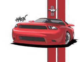Mustang GT by CodenameOXIDE