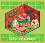 AnimalCrossing/Ketchup's room