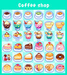 Coffee shop/foods icon