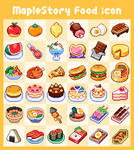 maplestory/foods icon by chansui