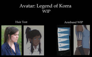 Avatar: Legend of Korra  Test and WIP by ScissorWizardCosplay