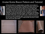 Avatar Korra Bracer Pattern and Tutorial